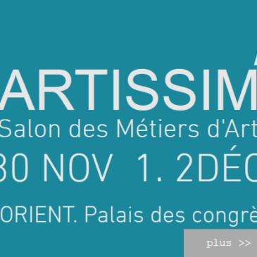 expo en Bretagne : Artissim