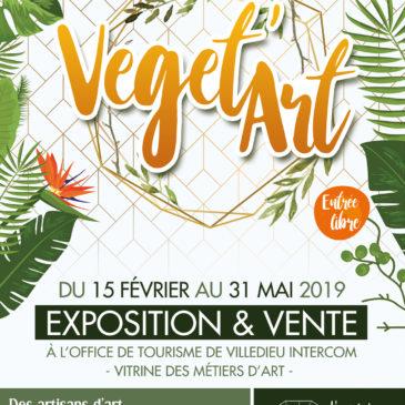 VEGET'ART, expo du 15 février au 31 mai