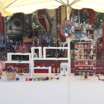 Expo au marché des artisans créateurs place Hoche