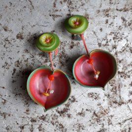 clips cœur de pomme
